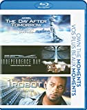 The Day After Tomorrow / Independence Day / i, Robot [Blu-ray]