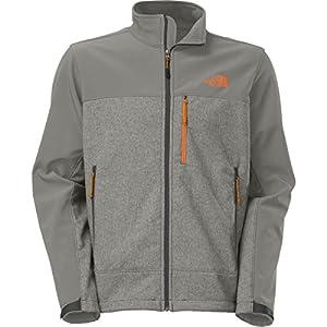The North Face Apex Bionic Jacket for Men (Medium, Sedona Sage Grey Heather/Asphalt Grey) by The North Face