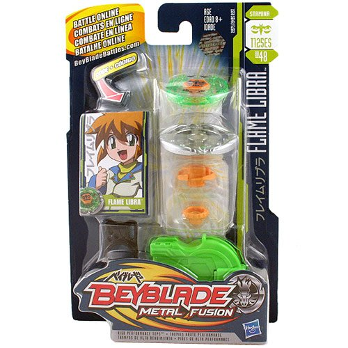 Beyblade Metal Fusion Battle Tops - Flame Libra (T125ES)(BB-48) by Beyblade