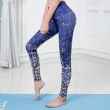 JIALELE Pantalon Yoga Apretado Gimnasio Servicios Star Sello ...