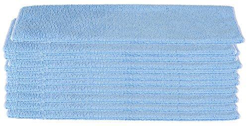 12er XXL Gesichtsreinigungstuch Sparset extra Groß - blau - Microfasertuch Abschminktuch Kosmetiktuch - Gesichtsreinigung