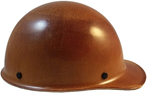 MSA Skullgard (SMALL SIZE) Cap Style Hard Hats with Ratchet Suspension - Natural Tan by MSA (Image #3)
