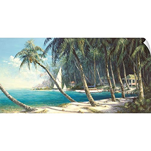 CANVAS ON DEMAND Bali Cove Wall Peel Art Print, 36