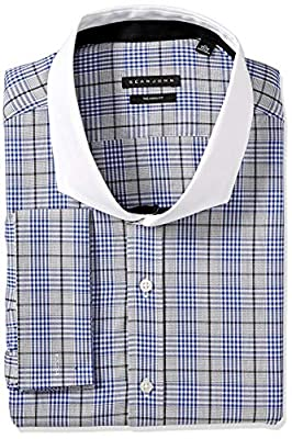 Sean John Men's Fit Dress Shirts Check (Big and Tall)