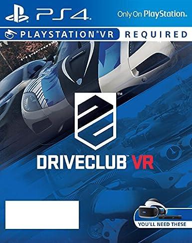 Sony DriveClub, PlayStation VR Básico PlayStation 4 vídeo - Juego ...