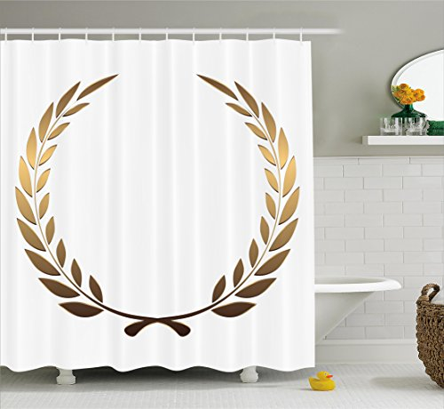 White Gold Wreath Design - 5