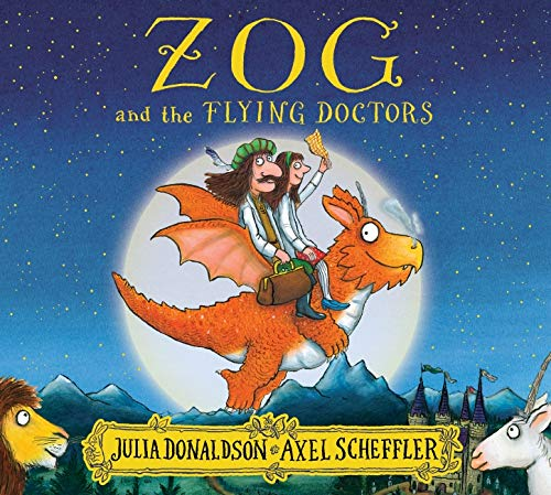 Free Comic Book Day Dubai: Zog And The Flying Doctors Paperback