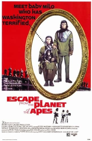 Amazon.com: Escape from the Planet of the Apes Movie Poster ...