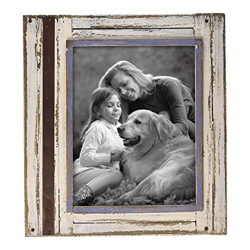 Foreside Home & Garden FFRD06220 8X10 Rustic Wood Frame White from Foreside Home and Garden
