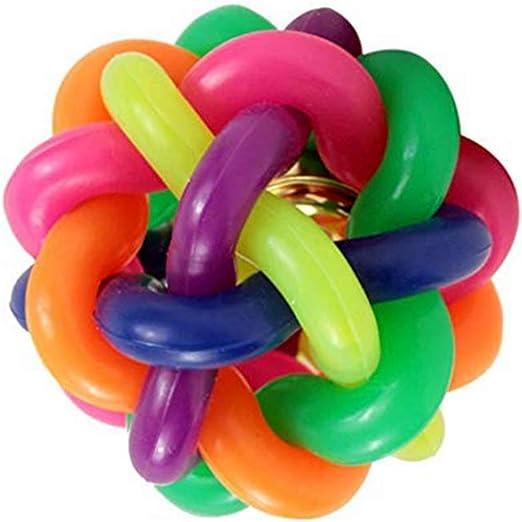 Xiton Pelota de Goma Color arcoíris, Juguete para Masticar para ...
