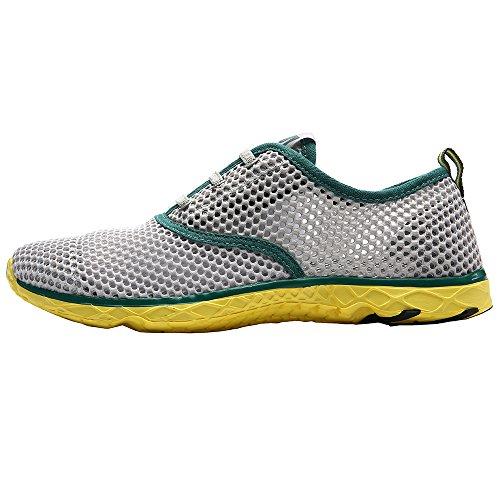 Aleader Aqua Shoes - Escapines de malla para hombre Verde - verde