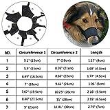 JYHY Nylon Dog Muzzle - Adjustable Quick Fit pet