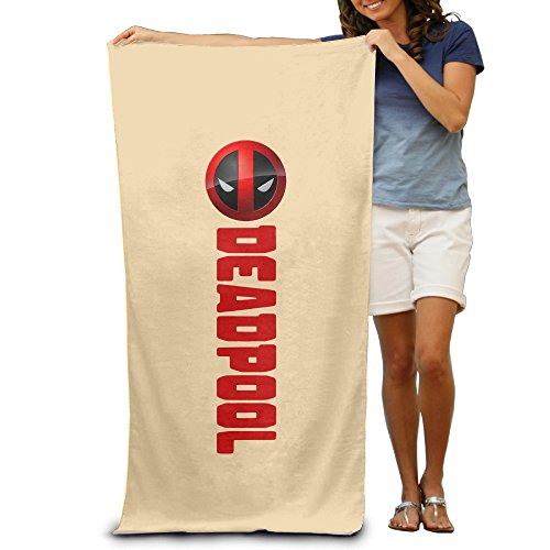 LCYC Dead Mask Pool Adult Cartoon Beach Or Pool Bath Towel 80cm*130cm (How To Make An Assassins Creed Costume)