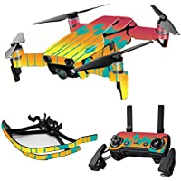 MightySkins Skin for DJI Mavic Air Drone - Sherbet Palms | Max Combo Protective, Durable, and Unique Vinyl Decal wrap cover | Easy To Apply, Remove, and Change Styles | Made in the USA