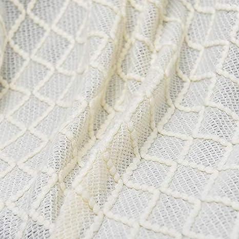 Adory Sweety Couverture Tricot/ée Couvre-lit D/écorative Textur/é Canap/é Jeter Canap/é Couverture Gland Tricot Plaids Frange Suspendue Tapis /à la Mode Nordique Chaud Jet/é Mignon Cadeau Beige,130x170cm