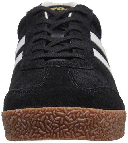 Gola Herren Harrier Fashion Sneaker Schwarz / Grau / Grau