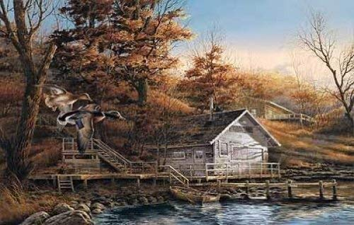 Terry Redlin Signed & Numbered Limited Edition Print Autumn Shoreline (24