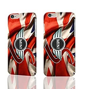 """New Mini Logo Cooper 3D Rough iphone Plus 6 -5.5 inches Case Skin, fashion design image custom iPhone 6 Plus - 5.5 inches , durable iphone 6 hard 3D case cover for iphone 6 (5.5""""), Case New Design By Codystore"""