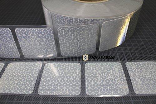 3M Reflexite VC 104+ Curtain Grade Segmentiert Konturmarkierung Reflexband (Gelb, 1 Meter (8,99 € / Meter))