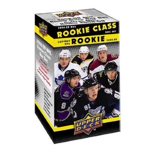Upper Deck Rookie Class Card - Upper Deck NHL Commemorative Box Set -2008-09 NHL Rookie Class Box Set