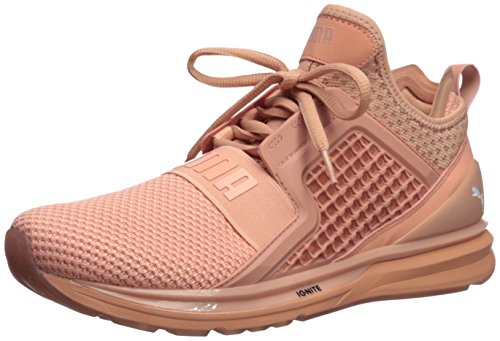 PUMA Men's Ignite Limitless Weave Sneaker, Muted Clay, 11.5 M US