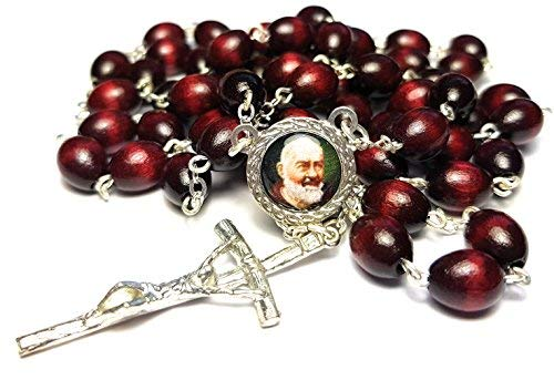 3rd class relic rosary Saint Padre Pio Pietrelcina for sale  Delivered anywhere in Canada
