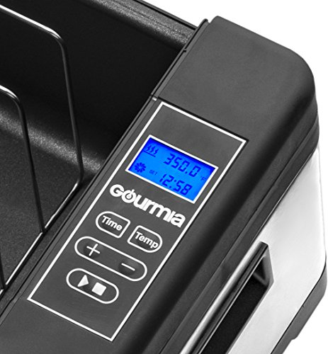 Gourmia GSV900 Sous Vide Self Contained Circulating Water Oven with Rack - Stainless Steel - 10 Quart- Includes Free Recipe Book - 110V by Gourmia (Image #2)
