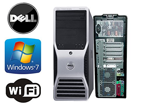 Dell Precision T5400 Workstation Mid-tower , 2 X Quad Core Intel Xeon 3.0GHz 12MB Cache, 8GB DDR2, 2 X *NEW* 1TB HDD, WiFi, Dual Video Output, DVD-RW, Microsoft Windows 7 Professional 64-Bit (Featuring an iCompNY USB Keyboard and Mouse)