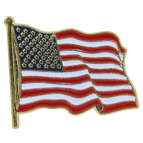 Enamel Usa Flag - 9