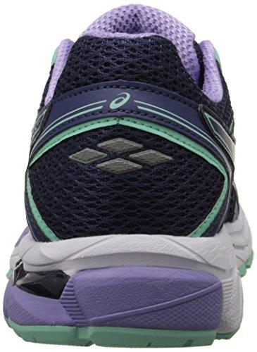 Asics Mujeres Gt-1000 4 Zapatillas De Running Midnight / Violet / Beach Glass