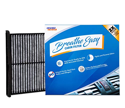 Spearhead Premium Breathe Easy Cabin Filter, Up to 25% Longer Life w/Activated Carbon (BE-811)