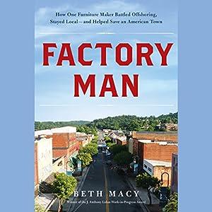 Factory Man Audiobook