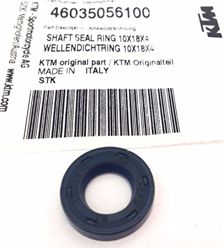NEW KTM OEM SHAFT SEAL RING 10x18x4 FOR WATER PUMP WHEEL 50 65 SX 46035056100 (Ring Shaft Seal)