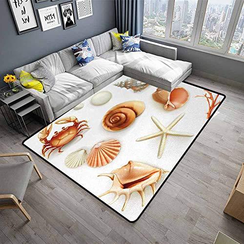 Seashells,Printed Mats for Children Bedroom 48