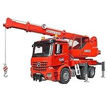 Bruder 03670 MB Arocs Crane Truck with Light & Sound Playsets