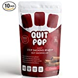 QuitPop/Natural Stop Smoking Remedy & Quit Smoking Solution To Help Reduce Cravings & Replace Smoking/Safe & Easy Way To Quit (Value, 10 Pack, Cinnamon)