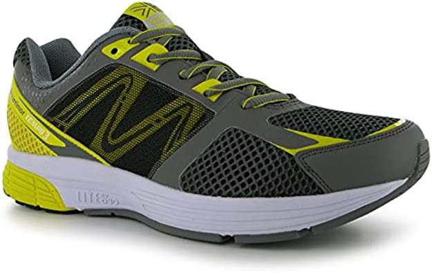 Karrimor - Zapatillas de Running para Hombre Grey/Yell/White: Amazon.es: Zapatos y complementos