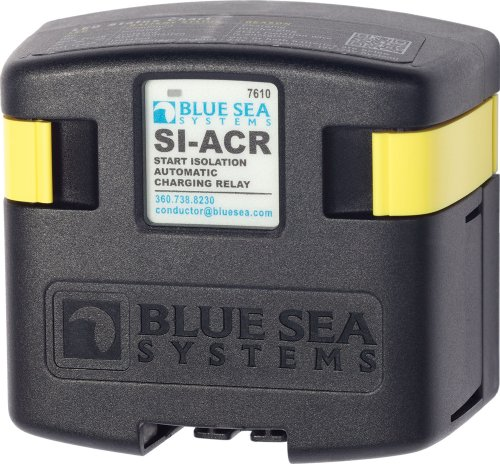 Blue Sea Systems SI-ACR Automatc Charging Relay - 12/24V DC / - Sea House Blue