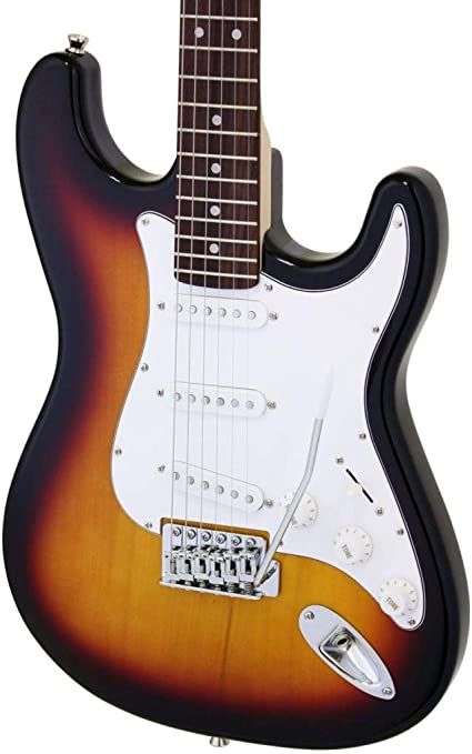 Aria STG003S - Guitarra Stratocaster, sombreado: Amazon.es ...