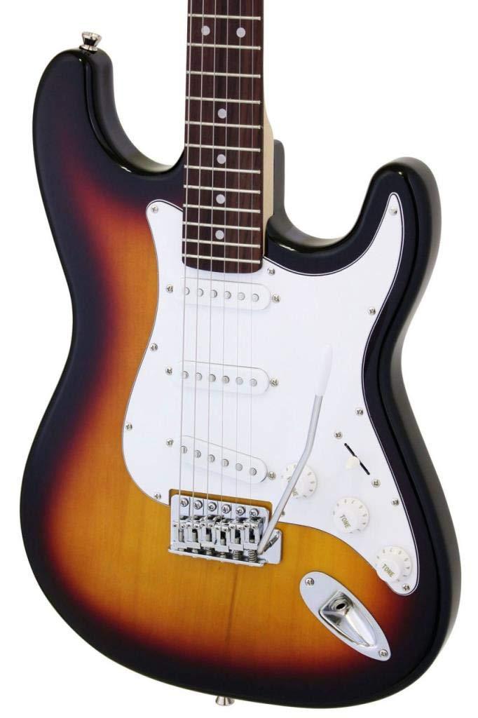 Aria STG003S - Guitarra Stratocaster, sombreado: Amazon.es: Instrumentos musicales