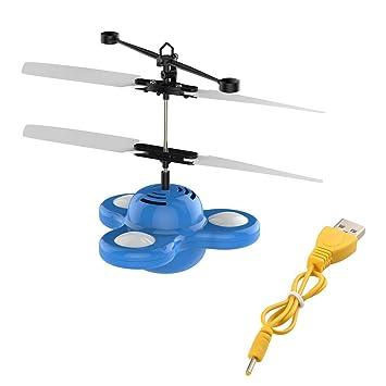 Platillo Flying Ufo Sensor Infrarrojo Para Juguetes Hovering Niños mIygb76vYf