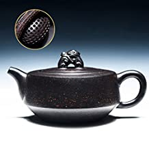 ZEETOON 160cc Yixing Teapot Authentic Purple Clay Master Handmade China Health Care Kung Fu Tea Set Zisha Puer Black Tea Ruishou Pot New