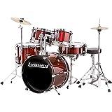 Drum Kit Ludwig LJR-106 Junior 5 Pc w/Throne,Cym,Hw W.Red