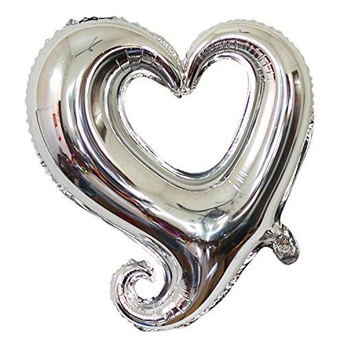 Pink Heart Mylar Balloon (ZOOYOO 18