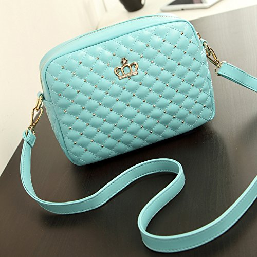 blue small retro casual square embossed single New GMYAN postbag handed fashions pqO7wxvvI