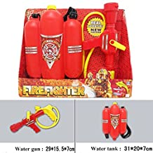 Fireman Backpack squirt guns Shooting Toy For Kids