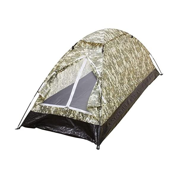 BNFUSA-SPTENT1XLDC-Maxam-Digital-Camouflage-Water-Resistant-Extra-Long-1-Person-Tent