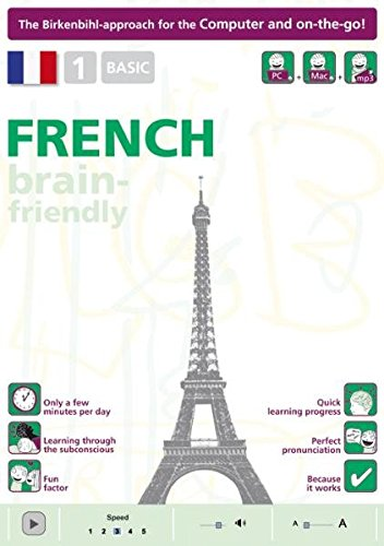 Read Online Brain-friendly French: Basic No. 1: Computer Course, French in Only 5 Minutes (Brain-friendly, French in Only 5 Minutes) PDF