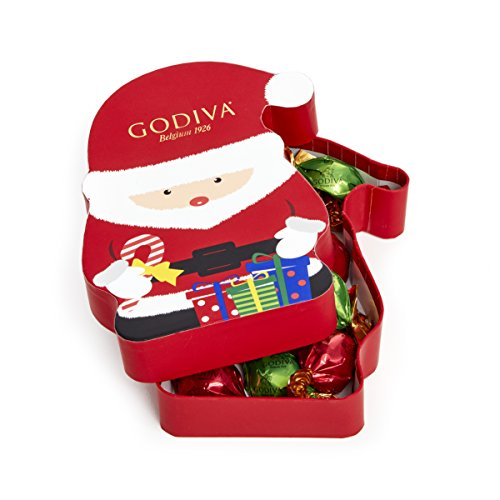 Godiva Chocolatier Chocolate Truffle Gift Box, Individually Wrapped, Stocking Stuffer, 8 Piece