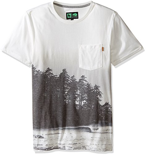Inlet Tee (HippyTree Men's Inlet Tee, White, Small)